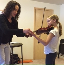 Violin Lessons with Katrin St Clair - About
